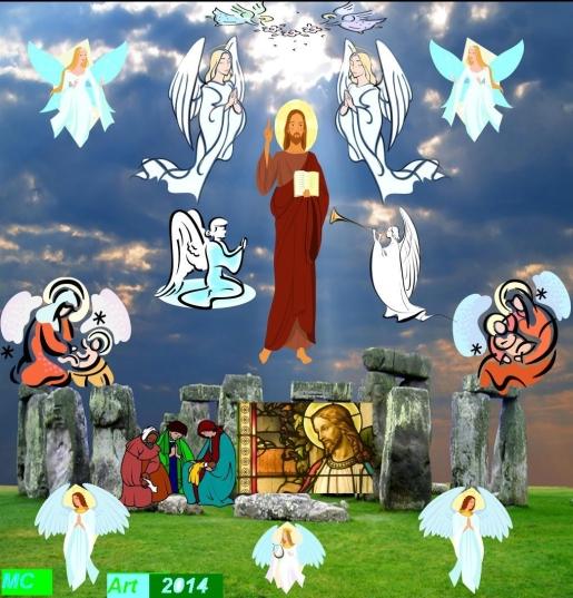 Jesús Desde el nacimiento hasta la Resurrección-Maricarmen Images Design 2014