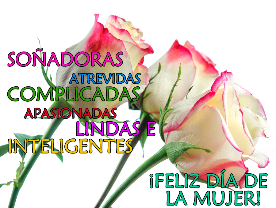 dia de la mujer 8 de marzo postales con flores y mensajes para compartir 9
