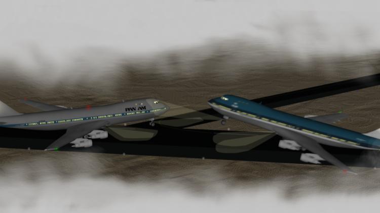 ¿Por qué ocurrió el peor accidente de la historia de la aviación civil? (video)