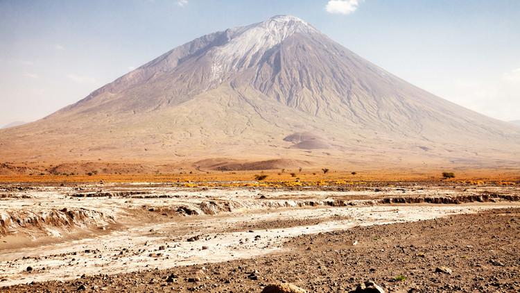 La 'montaña de Dios' podría entrar en erupción en cualquier momento