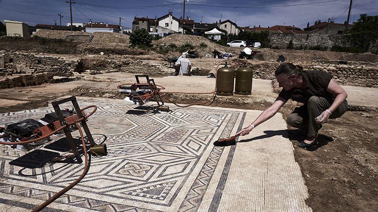 Descubren en Francia una 'pequeña Pompeya' (FOTOS)