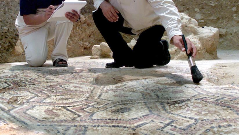 VIDEO: Descubren un mosaico cristiano de hace 1.500 años en Israel