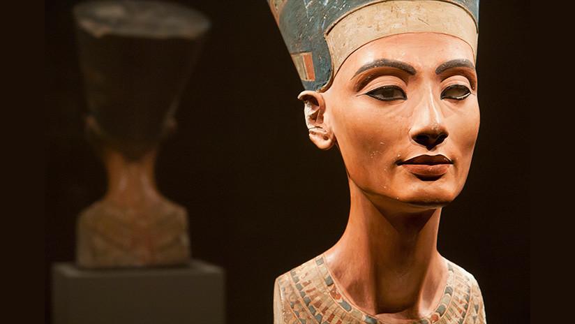 Recrean con tecnología 3D la imagen de la reina Nefertiti