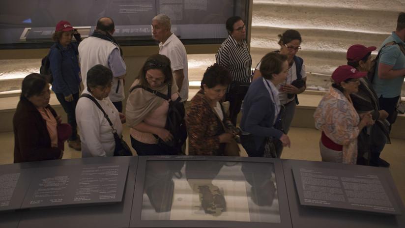 FOTOS: Exhiben por primera vez manuscrito del mar Muerto con la historia de Noé en primera persona