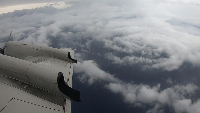VIDEOS: Así es el ojo del huracán Florence desde dentro