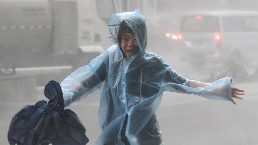 VIDEO: Los momentos más impactantes del devastador y violento tifón Mangkhut