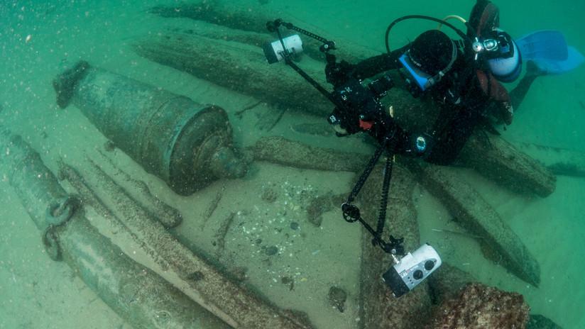 """""""El descubrimiento de la década"""": Hallan un barco hundido hace 4 siglos en Portugal (FOTOS)"""