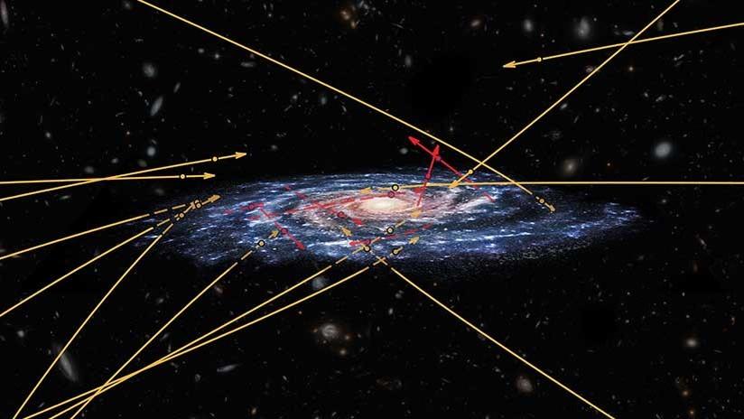 El comportamiento de las estrellas 'hiperveloces' de la Vía Láctea sorprende a los astrónomos