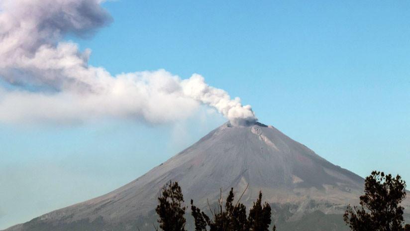 El volcán Popocatépetl expulsa columnas de ceniza y enciende las alarmas en México (FOTOS, VIDEO)