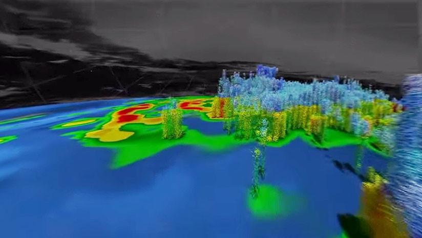 En 360º: Descubra desde dentro el huracán María en un video 3D de la NASA