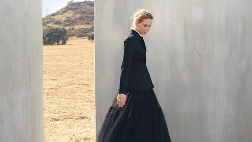 Dior celebra la herencia mexicana con la imagen de Jennifer Lawrence y le llueven críticas en la Red