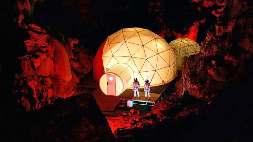 VIDEO: Proyecto 'Astroland', la futura vida humana en Marte recreada en una cueva española